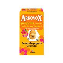 ARKOVOX PROPOLIS + VITAMINA C 24 COMP MASTICABLES SABOR FRAMBUESA