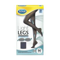 DR SCHOLL LIGHT LEGS MEDIAS DE COMPRESION 20 DEN T-L COLOR NEGRO