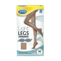 DR SCHOLL LIGHT LEGS MEDIAS DE COMPRESION 20 DEN T-L COLOR CARNE