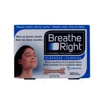 Breathe Right Tira Nasal Color Tamaño Pequeño-Medio 30 Unidades