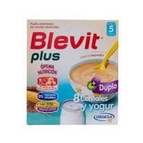 BLEVIT PLUS DUPLO 8 CEREALES Y YOGUR  600 G