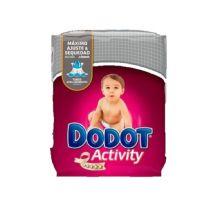 DODOT PAÑAL INFANTIL ACTIVITY T-4 8-14 KG 48 UNIDADES