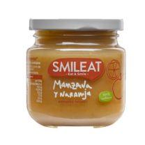 SMILEAT MANZANA Y NARANJA 130 GR
