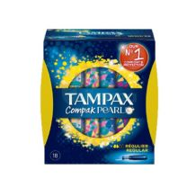 Tampax Pearl Compak Tampón Regular 18 Unidades