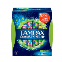 Tampax Pearl Compak Tampón Super 18 Unidades
