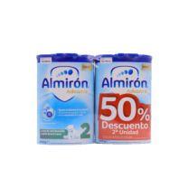 Almirón Advance 2 Leche de Continuación 800g+800g Bi Pack 50%Dto 2aUd