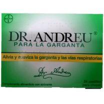 DR ANDREU PASTILLAS PARA LA GARGANTA 24 PASTILLAS