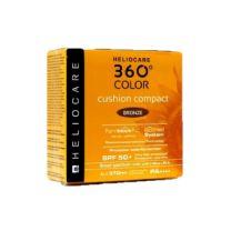 HELIOCARE 360º COLOR CUSHION COMPACT SPF 50 + PROTECCION SOLAR COLOR BRONZE