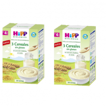 HIPP PAPILLA CEREALES  3 CEREALES 2 X 200 G